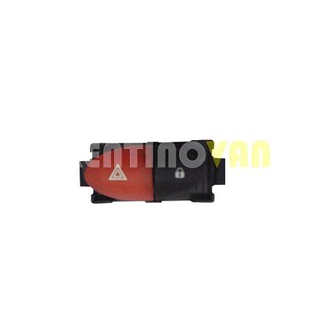 Botão do Pisca Alerta Renault Master 2.3 de 2014 a 2017