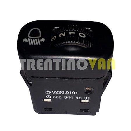 Interruptor Ajuste do Farol - 0005444831 - Mercedes Benz Sprinter 2000 a 2006