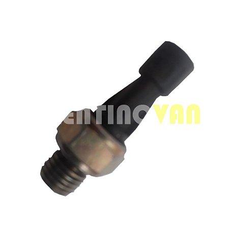 Sensor de Pressão do Óleo (preto) - F100821 - Iveco Daily/Fiat Ducato