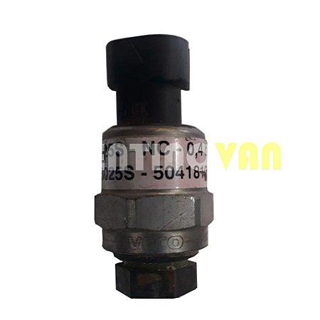 Sensor de Pressão do Ar condicionado - 504181087 - Iveco Daily Antiga