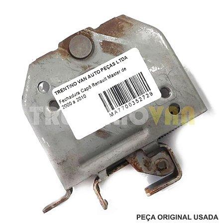 Fechadura Capô Renault Master - 00 a 10