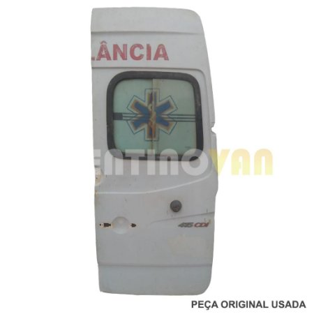Porta Traseira Teto Alto Passageiro Sprinter 12 a 19 Lado Direito Ambulância