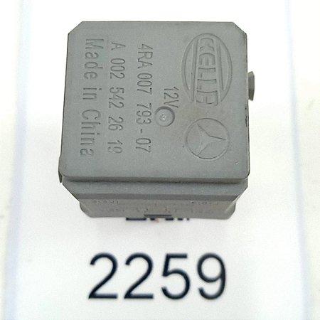 Relé Ventilador 4 Pinos Sprinter - A0025422619 - 97 a 17