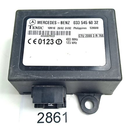 Imobilizador Sprinter - A0335456032 - 02 a 11