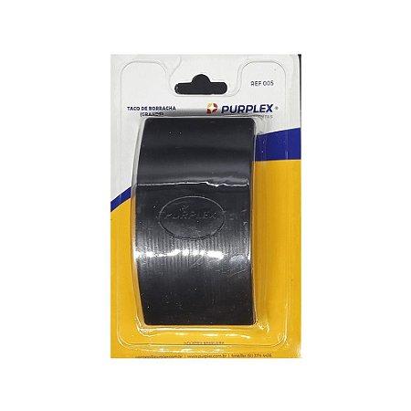 Taco Lixador Manual Grande de Borracha 005 122mm X 65mm - Purplex