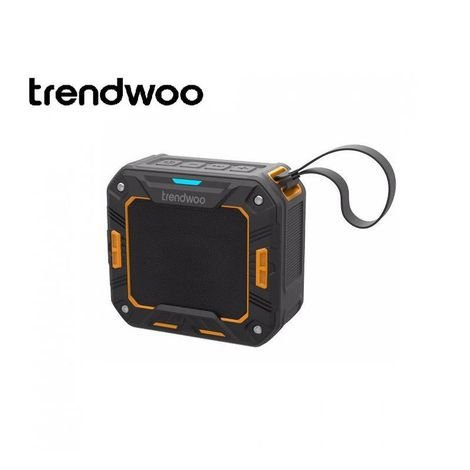 Bluetooth Sport Speaker - 5w X-bass - À Prova de Impacto, Areia e Água - IP66 - Laranja