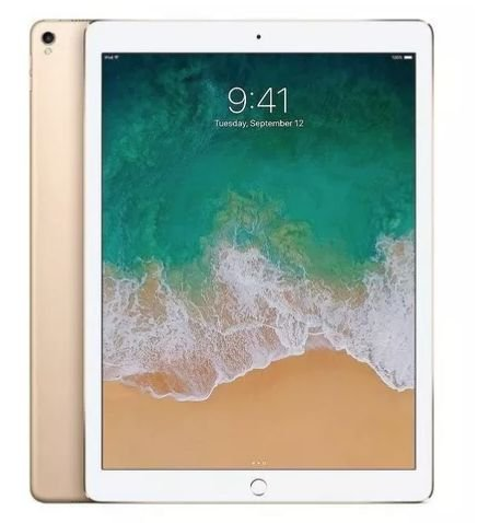 iPad Pro 12.9 Dourado 256gb + Apple Pencil