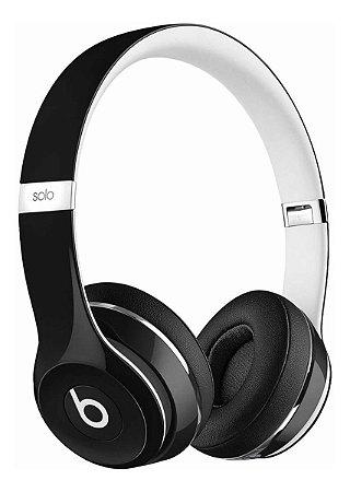 Fone de Ouvido Beats Solo 2 Luxe Edition Headphone Preto