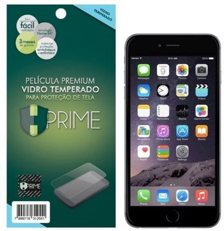 Película de Vidro Temperado HPrime para Apple iPhone 6 Plus/ 6S Plus, Transparente, Leve 2 Pague 1