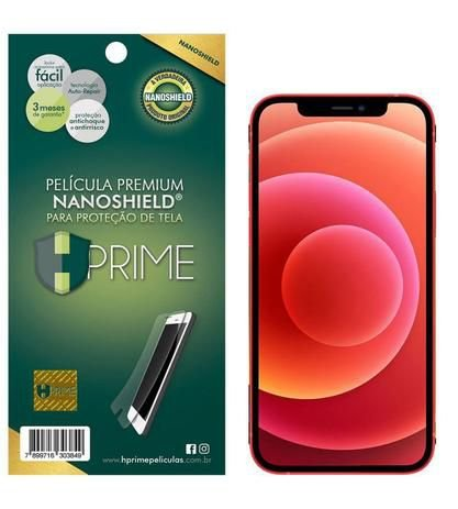 Película Nanoshield HPrime para Apple iPhone 12 Pro, Transparente, Leve 2 Pague 1