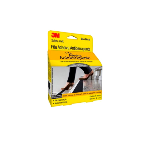 Fita Antiderrapante Safety Walk Transparente 50mm x 5m 3M