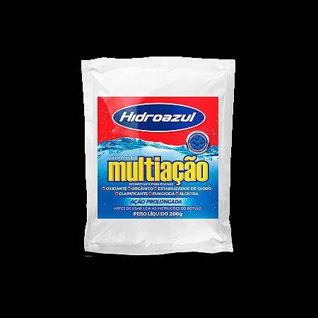 Pastilha Cloro Piscina Multiação 200g Hidroazul