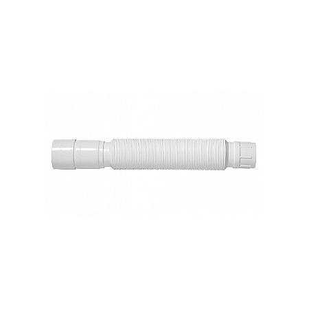 Sifão Corrugado Ajustável de PVC Branco Blukit