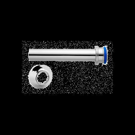 Tubo de Ligação Ajustável para Bacia Vaso PVC Metalizado Blukit