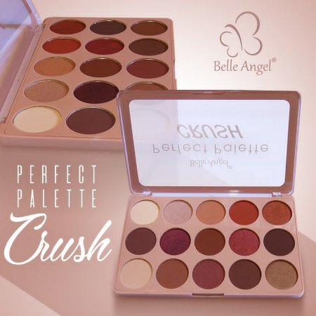 Paleta de sombra Belle angel Perfect Palette Crush