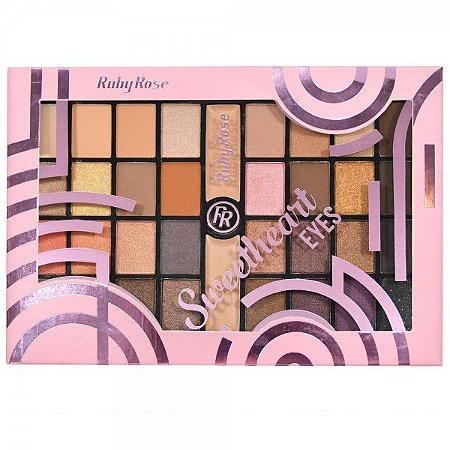 Paleta de sombra Ruby Rose - Swertheart Eyes HB-9977
