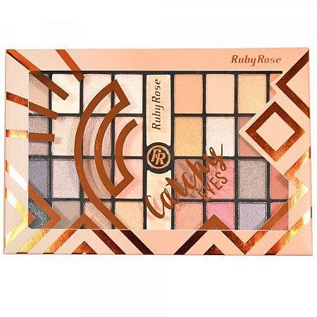 Paleta de sombra Ruby Rose - Catchy Eyes HB-9979