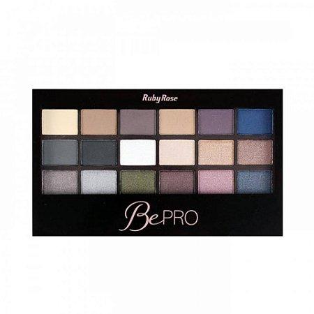 Paleta de sombra Ruby Rose - BePro - HB-9929