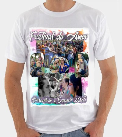 Camiseta Festival do Amor - Concentrar e Expandir 2015