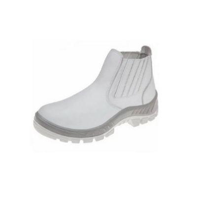 Bota  M micro Marluvas  cor Branca Bico PVC