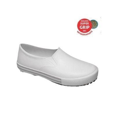 Tênis unisex Soft Works Branco Antiderrapante BB80