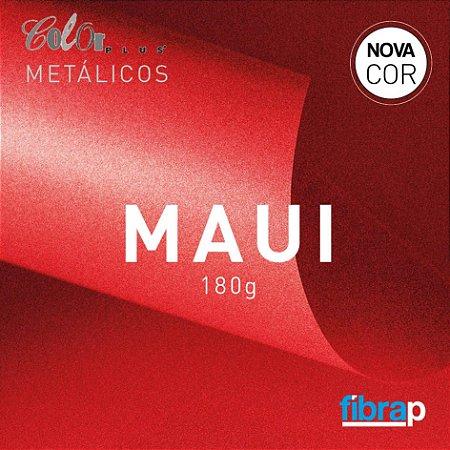 Color Plus Metálico Maui 180 g/m2,  pacote 20fls.