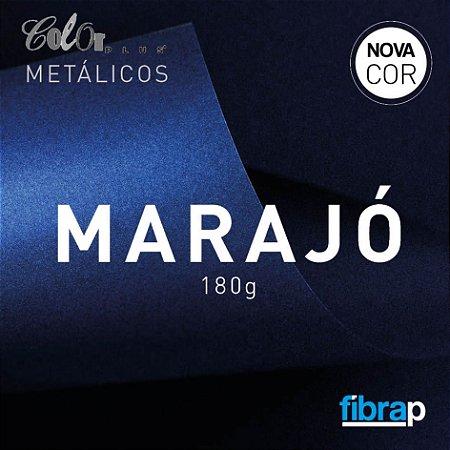 Color Plus Metálico Marajó 180 g/m2,  pacote 20fls.
