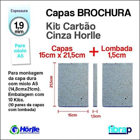 Kit Montagem Agenda Aula, A5 lombada 1,5cm, MP Mimos Personalizados