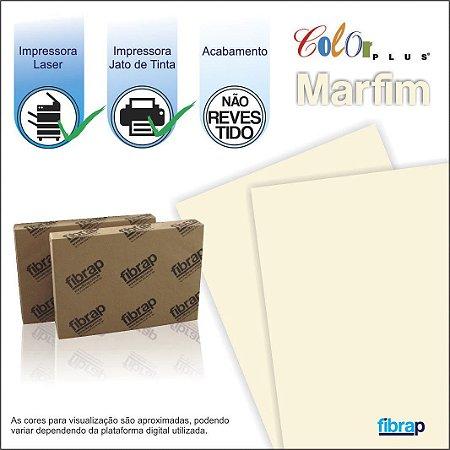 Color Plus Marfim,  pacote 100fls.