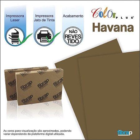 Color Plus Havana,  pacote 100fls.