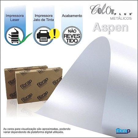 Color Plus Metálico Aspen,  pacote 100fls.