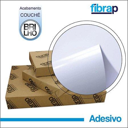 Adesivo Brilho/Couché 180g/m2 , pacote 100fls.