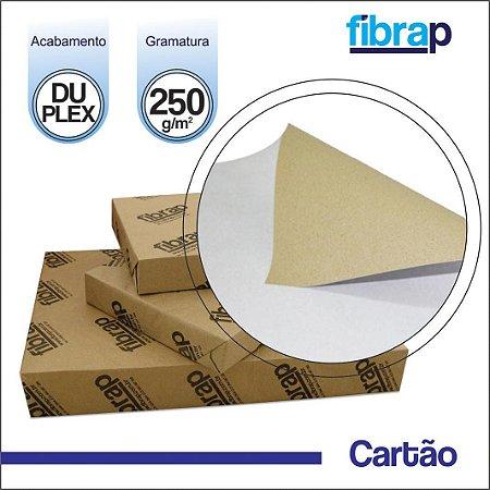 Cartão Duplex 250g/m2 , pacote 200fls.
