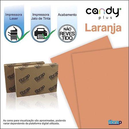 Candy Plus Laranja,  pacote 100fls.