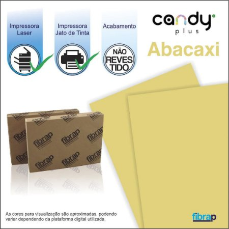 Candy Plus Abacaxi,  pacote 100fls.