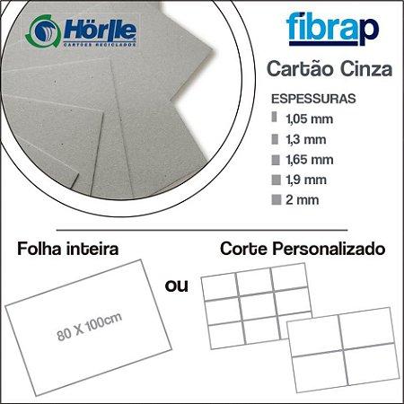 Cartão Cinza, 80x100cm ou Cortes Personalizados
