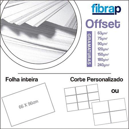 Offset, 66x96cm ou Corte Personalizado.