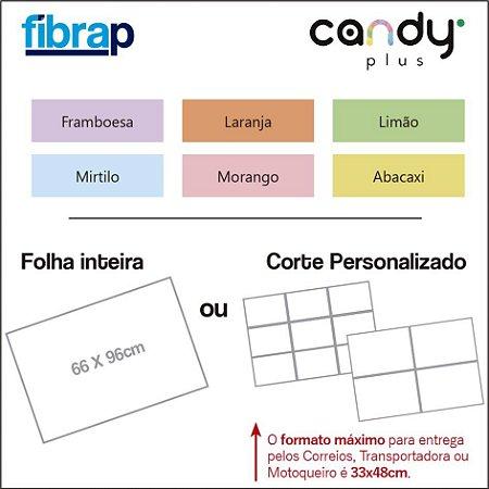 Candy Plus, 66x96cm ou cortes Personalizados.