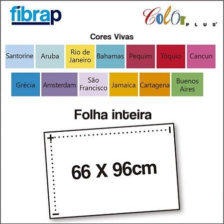 Color Plus Cores Vivas, Folha Inteira 66x96cm.