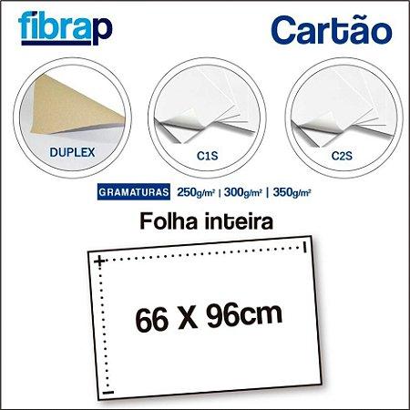 Cartão, 66x96cm, Folha Inteira.