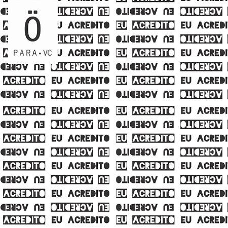 Avental EU ACREDITO  Atlético . ÖTA • PARA • VC