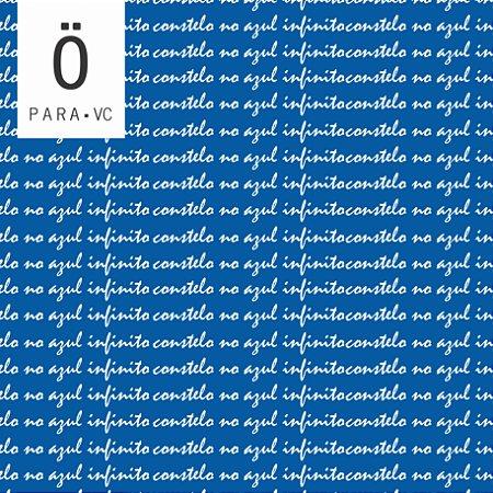 Avental AZUL INFINITO BLUE Cruzeiro . ÖTA • PARA • VC