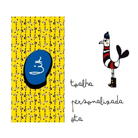 TOALHA PISCINA PERSONALIZADA . ESTAMPA MARINHEIROS DO MAR . ÖTA • PARA • VC