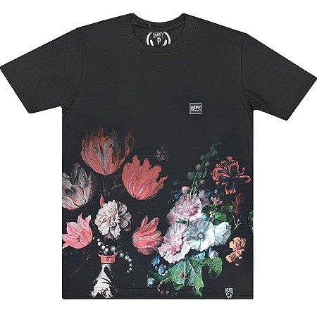 e9d4c906bd Camiseta Dark Flowers Botanical - Yoxee Store