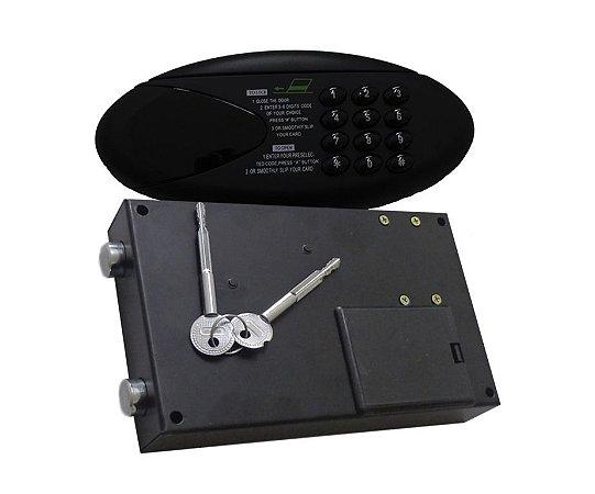 Fechadura Eletrônica Digital - BH - Cartão Magnético - Chave de Emergência