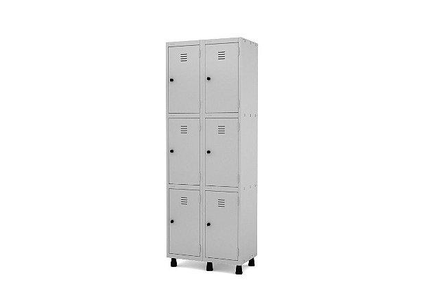 Roupeiro De Aço 6 Portas - GRP/GRF 502-6
