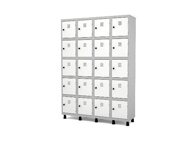Roupeiro De Aço 20 Portas - GRP 504-20