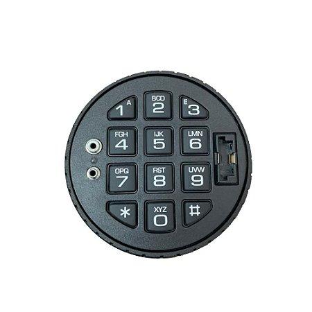 Fechadura Eletrônica Digital - Combogard 39E/80 - Zamaq - Auditoria