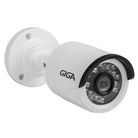 Câmera Giga GS0013 Bullet Open HD Plus IR 20M UTC DWDR IP66 (1.0MP | 720p | 3.2mm | Plast)