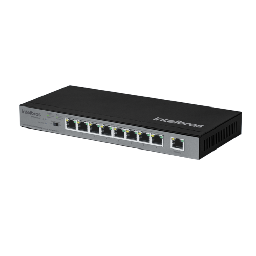 Switch Intelbras 9 Portas Fast c/ 8 PoE SF 900 PoE